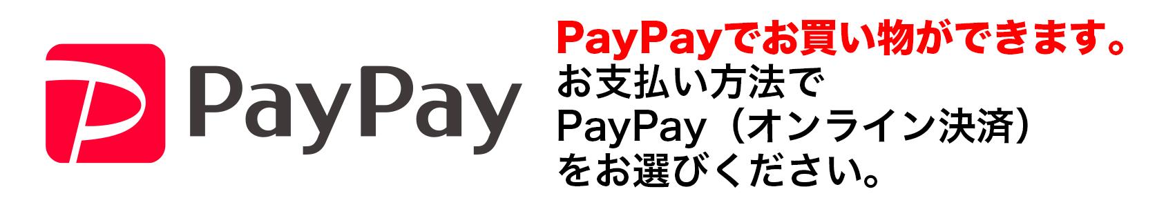 PayPay(オンライン決済)
