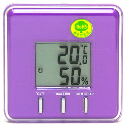 キャンディーPOPな温湿度計